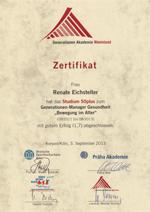GAR Zertifikat